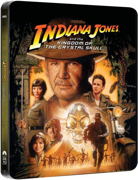 Indiana Jones et le royaume du crane de cristal en blu-ray métal édition limitée