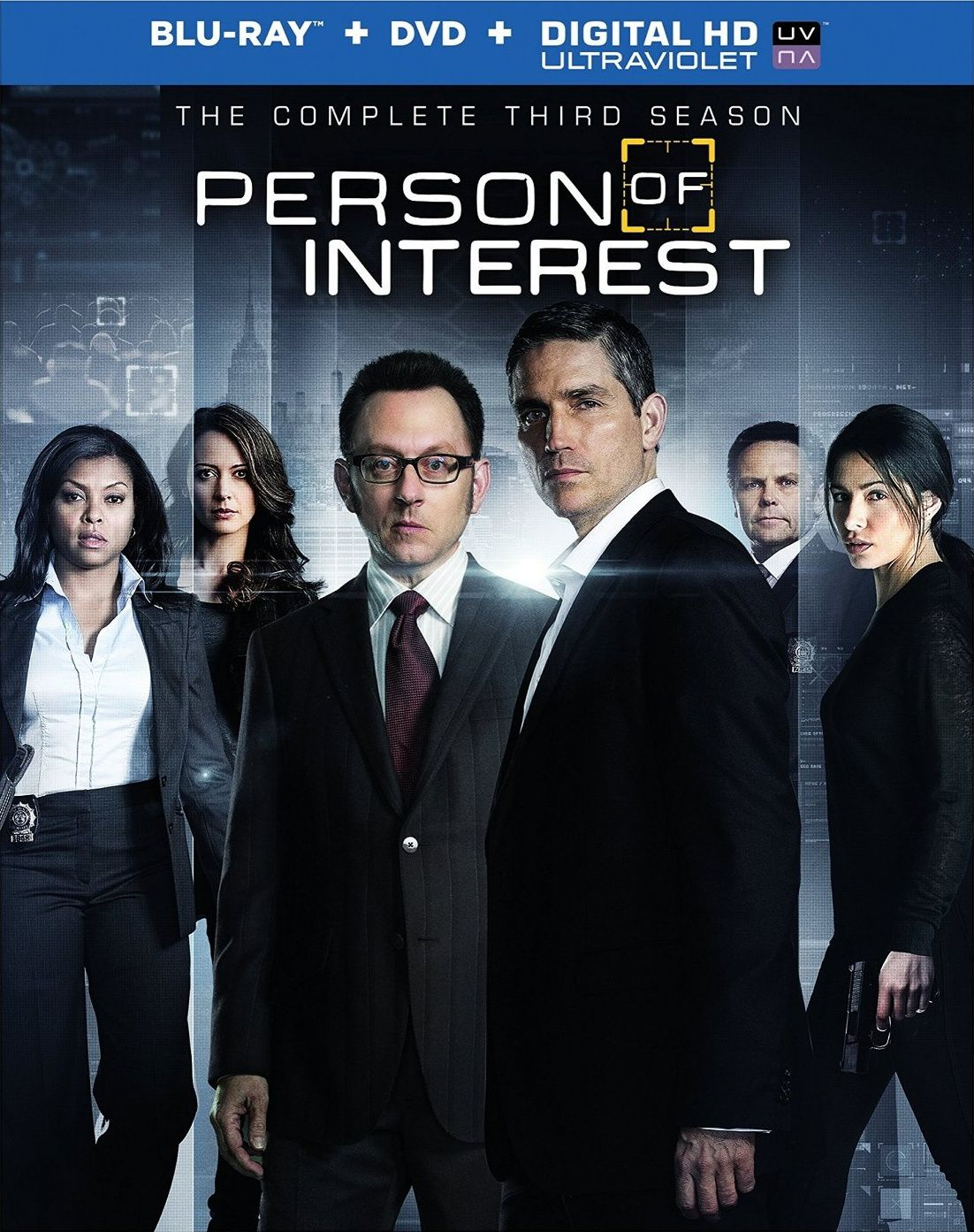 Person of interest saison 3 en dvd/blu-ray/digital ultraviolet