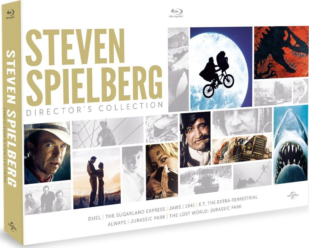 Steven Spielberg Director's Collection en coffret blu-ray