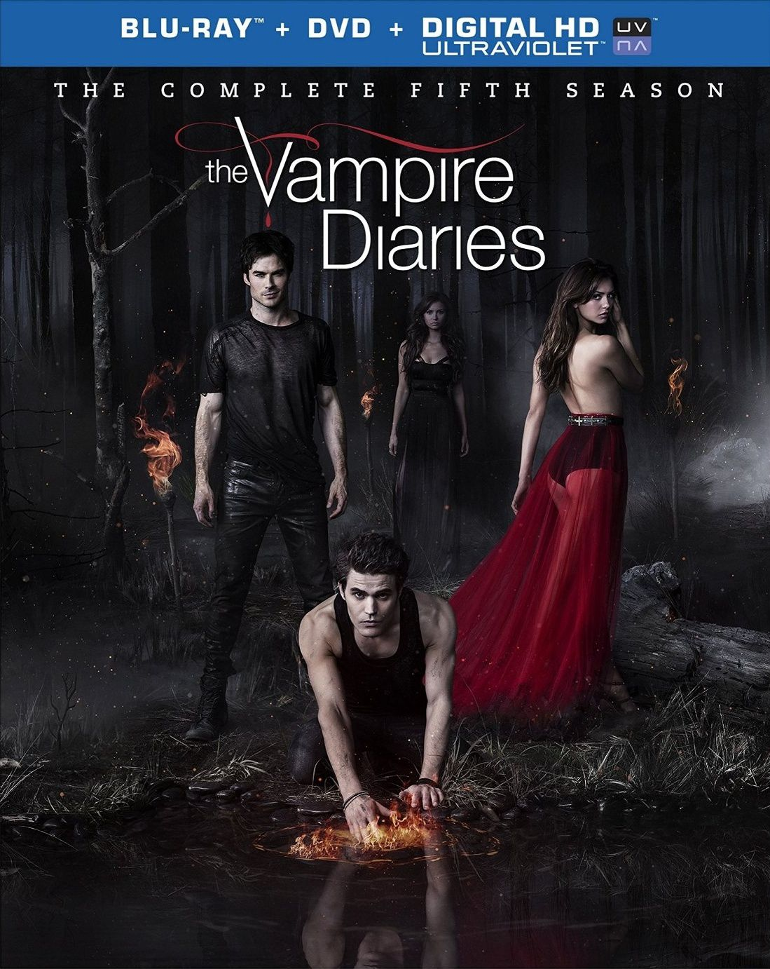 Vampire diaries saison 5 en dvd/blu-ray/digital ultraviolet