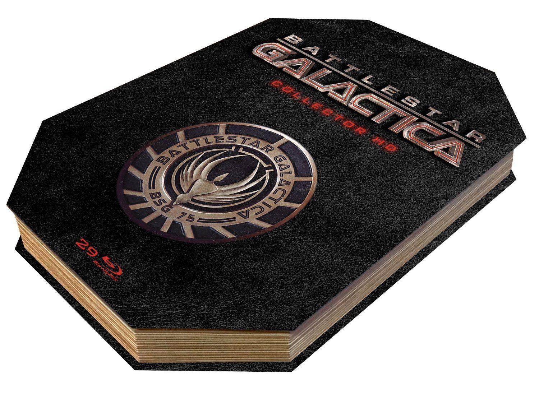 Battlestar galactica, l'intégrale totale en coffret blu-ray collector ultimate édition limitée