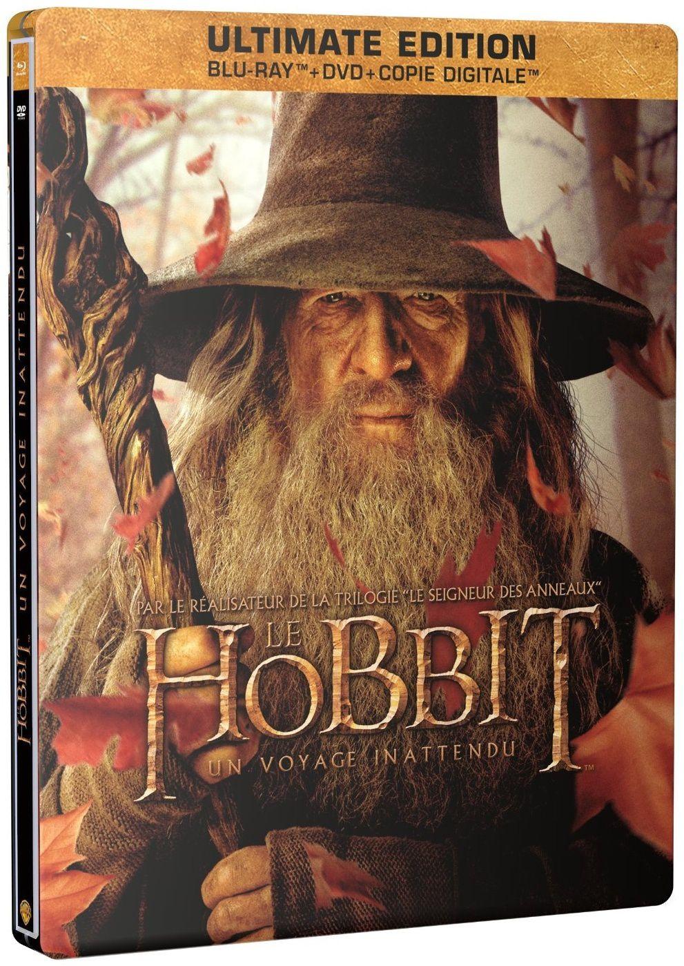Le Hobbit, un voyage inattendu en blu-ray métal ultimate à 7€ only !