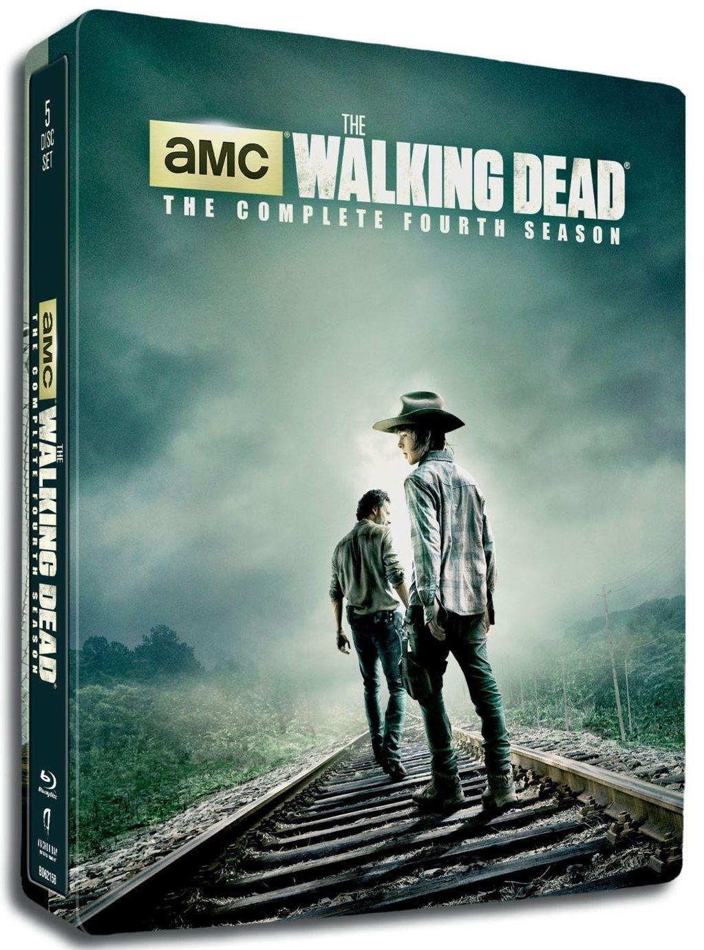 The walking dead saison 4 en coffret blu-ray métal édition limitée