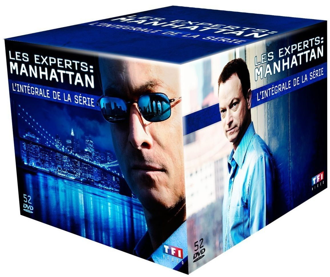 Les experts Manhattan, l'intégrale totale en dvd en France