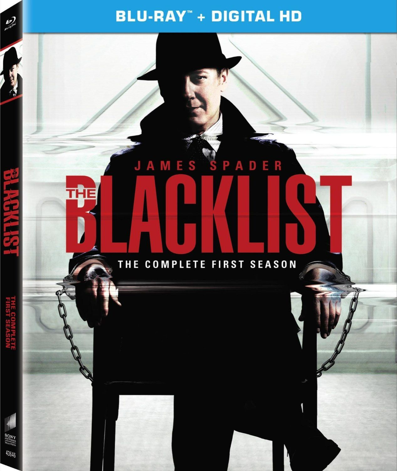 The blacklist saison 1 en dvd/blu-ray/digital ultraviolet