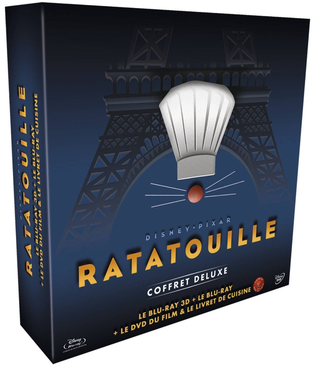Ratatouille en coffret blu-ray collector deluxe