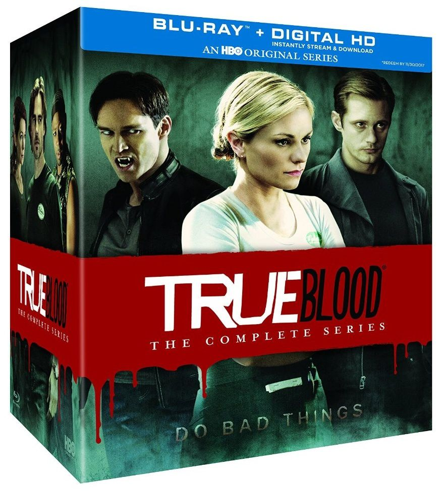 True blood, l'intégrale totale en dvd/blu-ray/digital ultraviolet