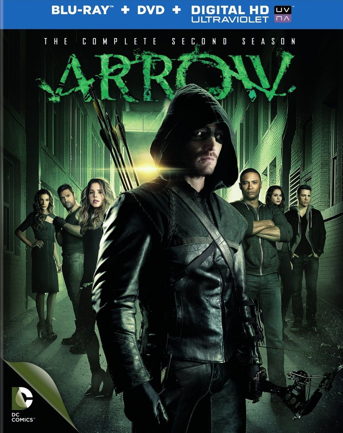 Arrow saison 2 en dvd/blu-ray/digital ultraviolet