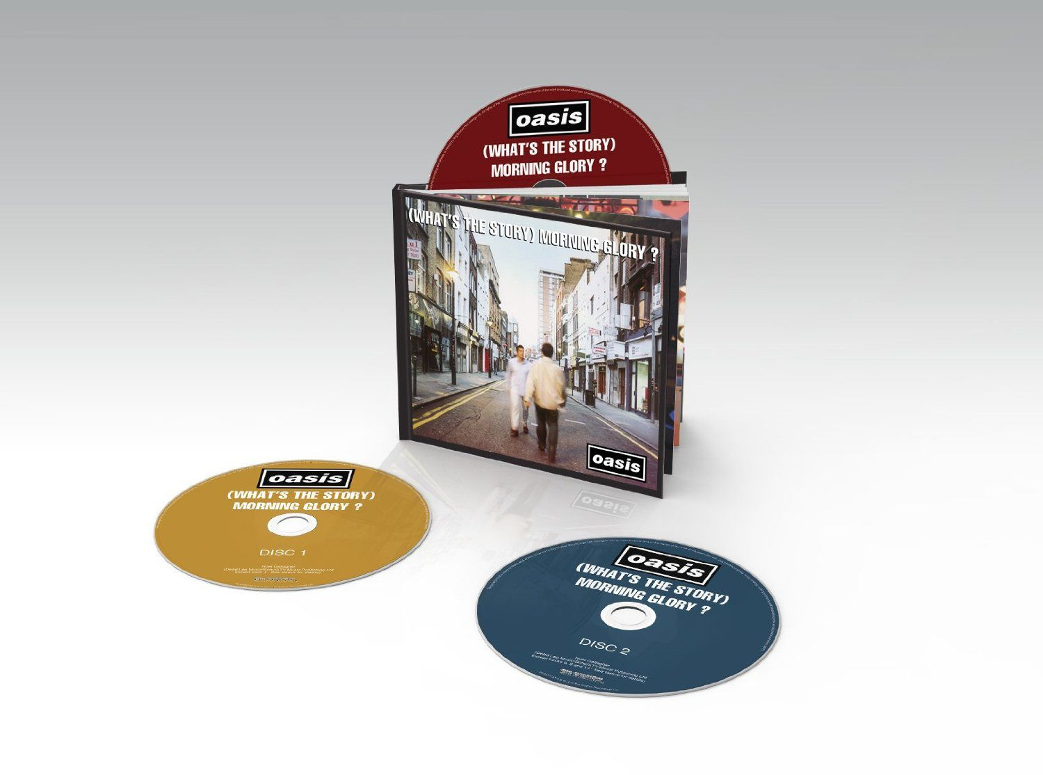 Oasis &quot&#x3B;What's the story morning glory&quot&#x3B; en versions deluxe et collector