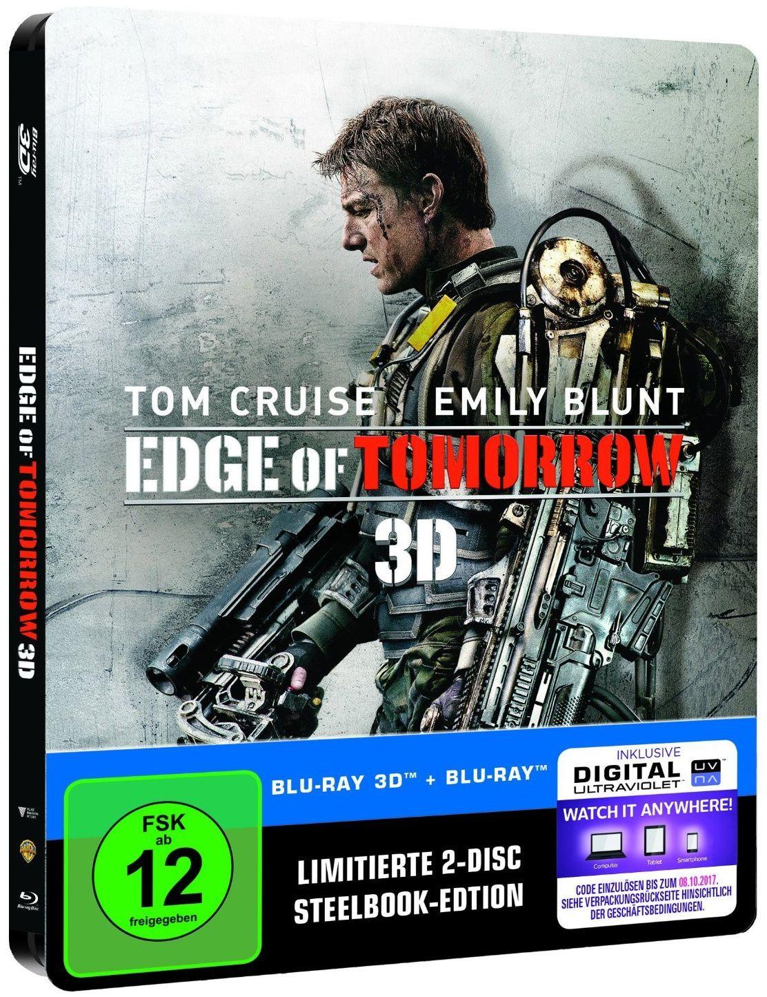 Edge of tomorrow en blu-ray métal édition limitée