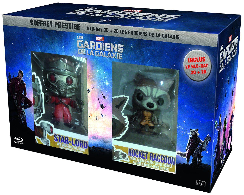 Les gardiens de la galaxie en blu-ray collector édition limitée