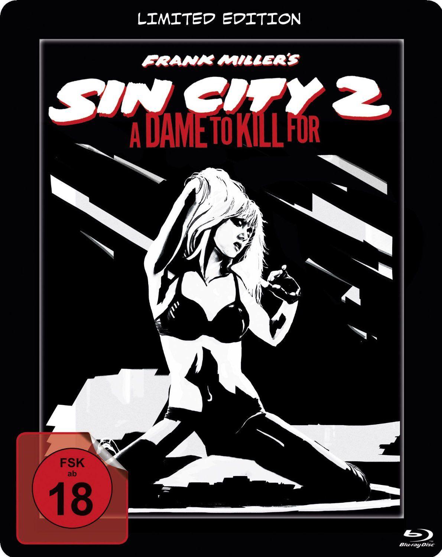 Sin city 2, j'ai tué pour elle en blu-ray métal édition limitée