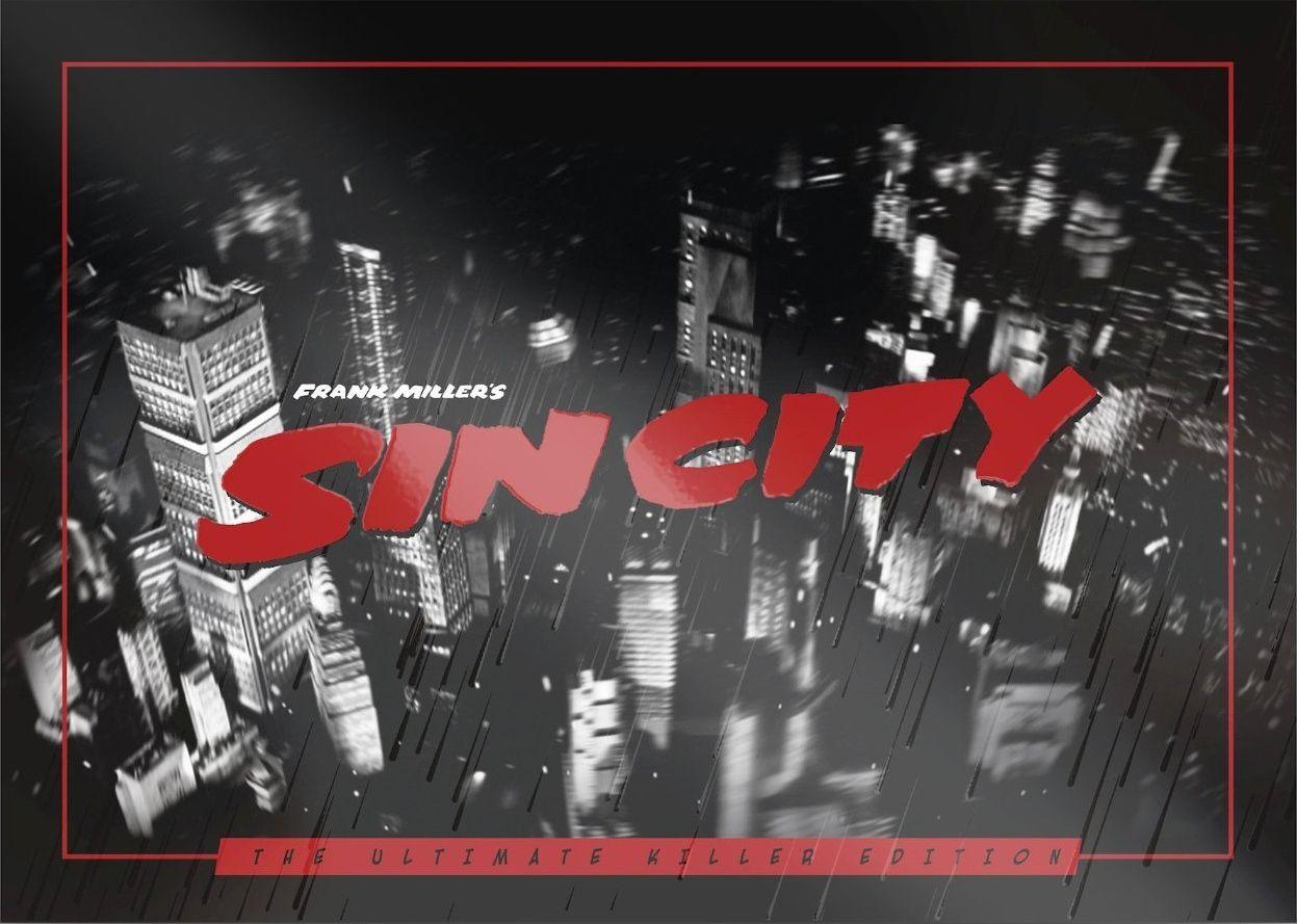 Sin city 1 et 2 dans un coffret blu-ray ultimate killer édition limitée deluxe