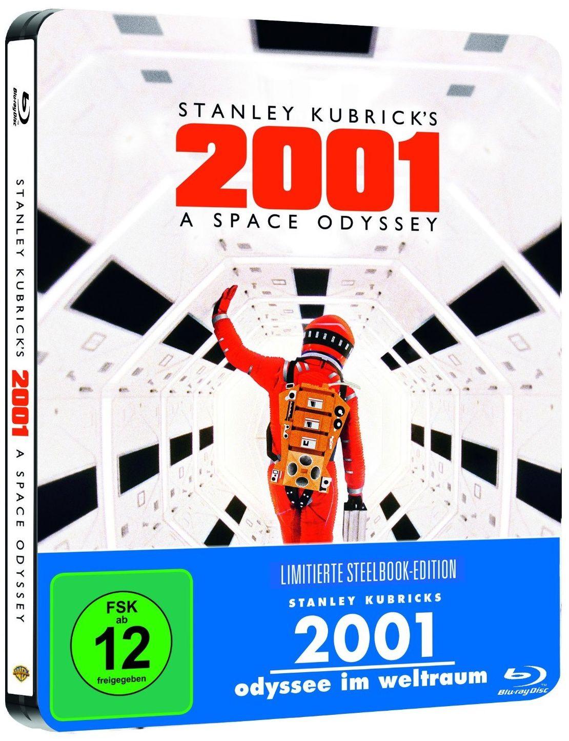 2001, l'odyssée de l'espace en blu-ray métal édition limitée