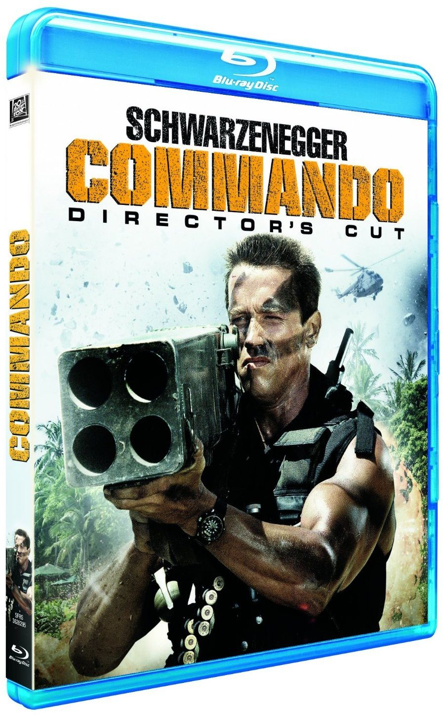 Commando en blu-ray version director's cut