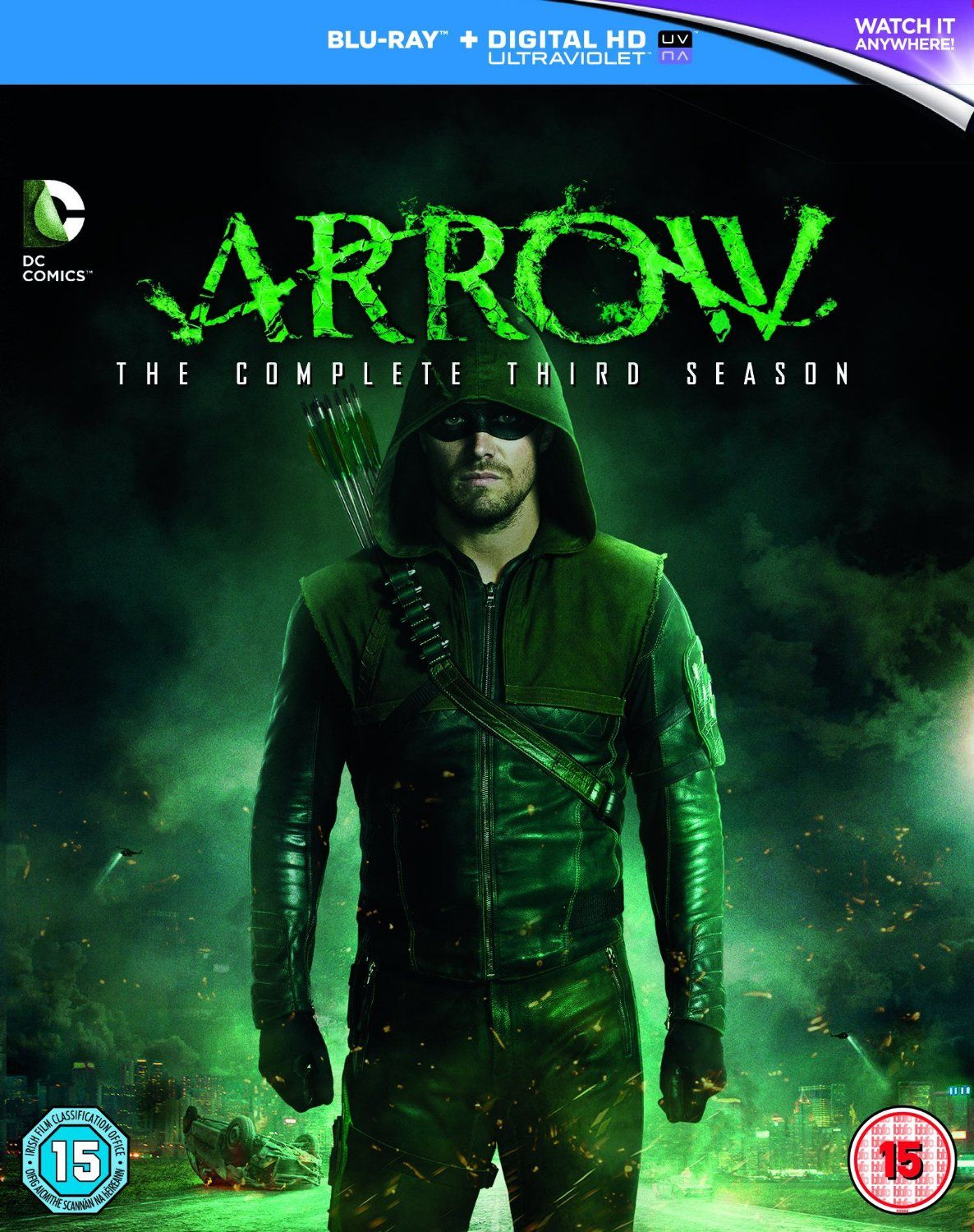 Arrow saison 3 en dvd/blu-ray