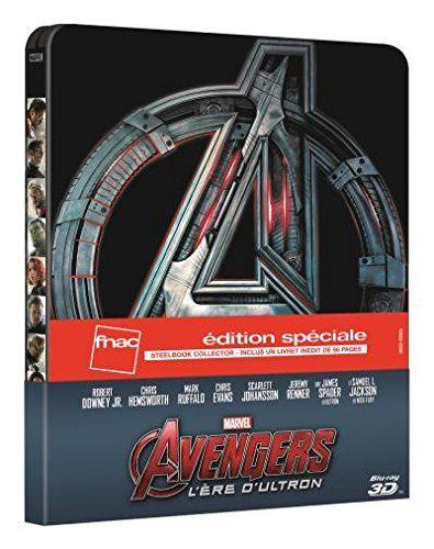 Avengers 2, l'ère d'Ultron en blu-ray métal limitée