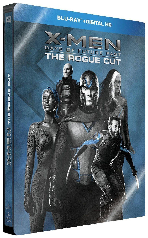 X-Men : Days of Future Past en blu-ray métal édition limitée