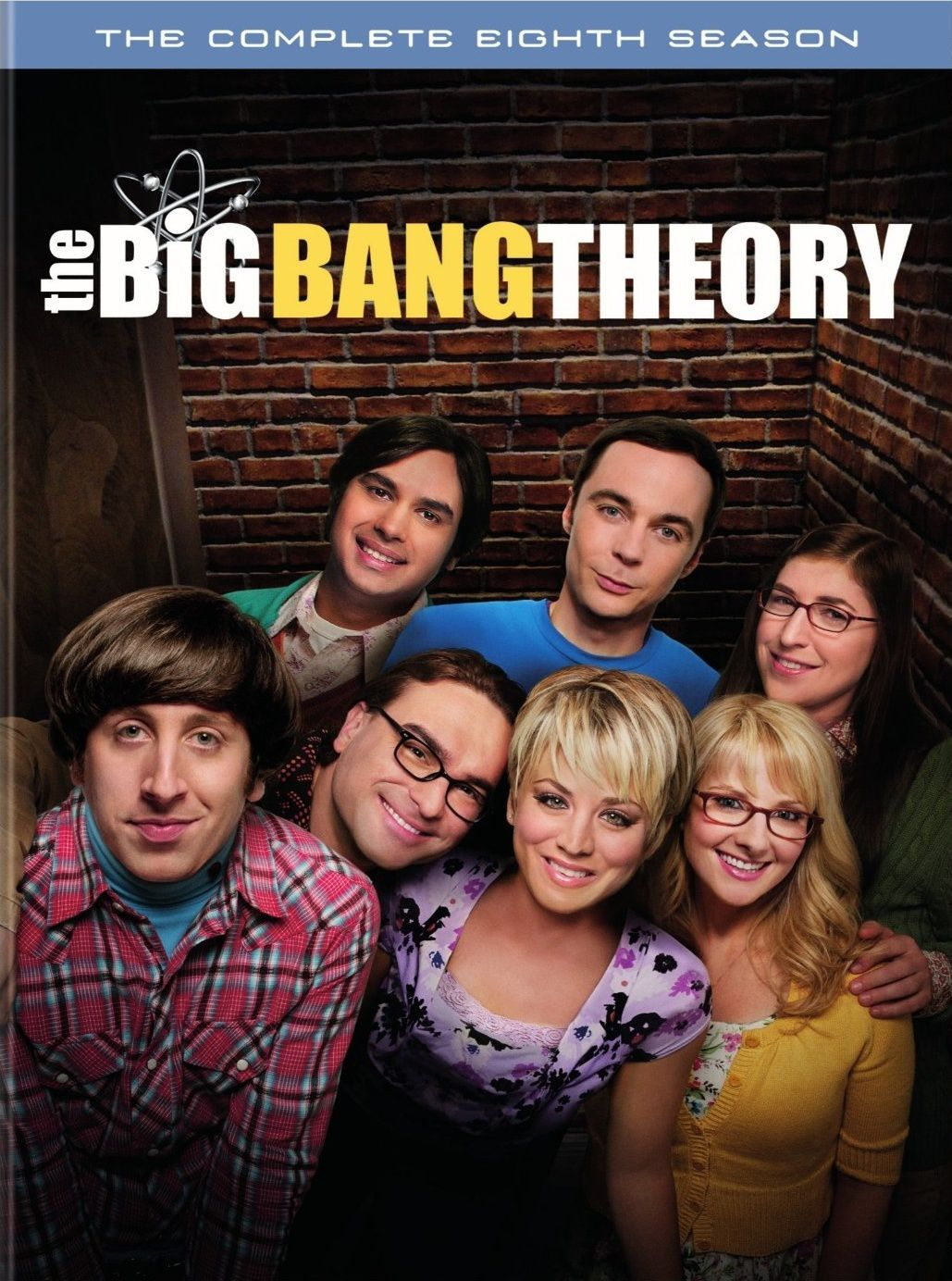 The big bang theory saison 8 en dvd/blu-ray