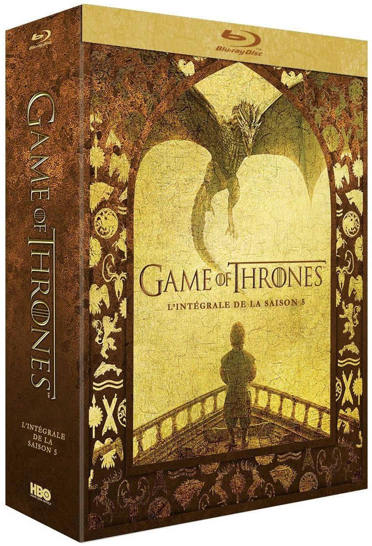 Game of thrones saison 5 en dvd/blu-ray