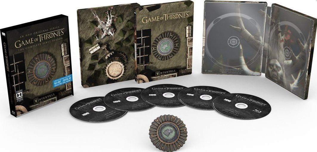 Game of thrones saison 1 en blu-ray métal édition limitée