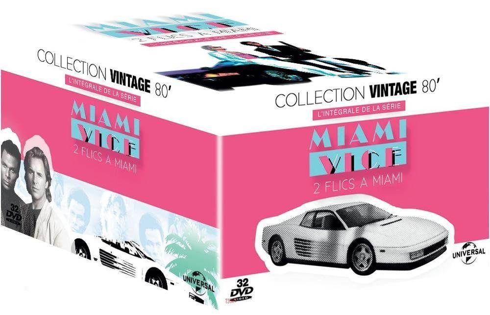 2 flics à miami, l'intégrale totale en dvd à 39€ only !