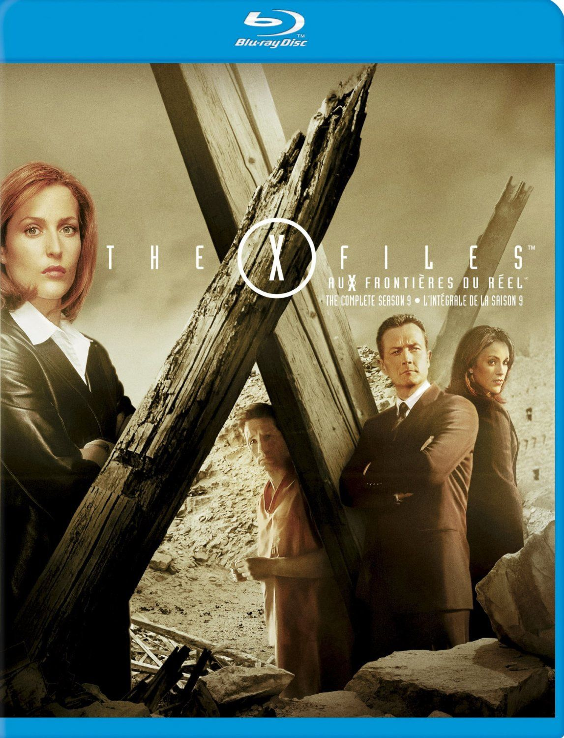 X-files saison 9 en blu-ray