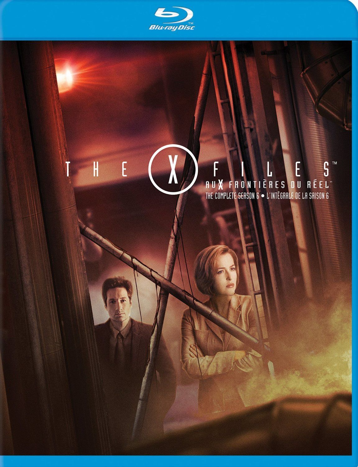 X-files saison 6 en blu-ray