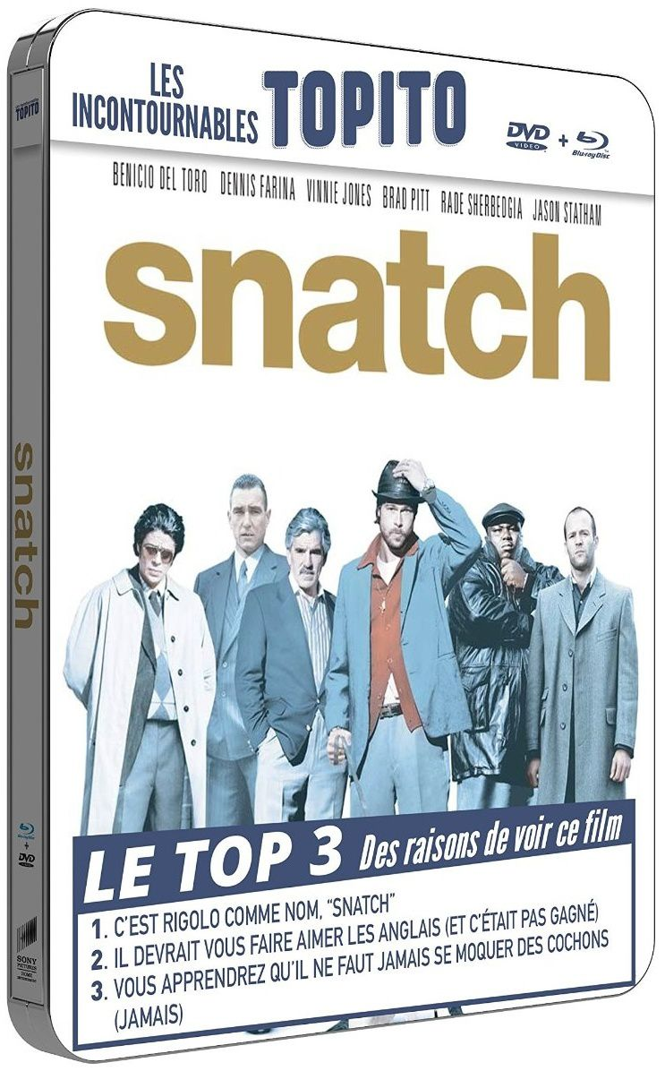 Snatch en blu-ray métal
