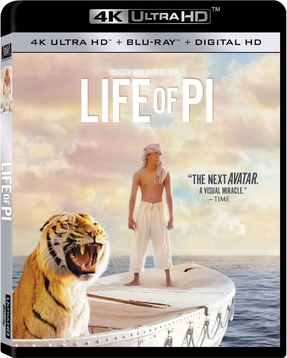 Life of Pi en blu-ray ultra hd