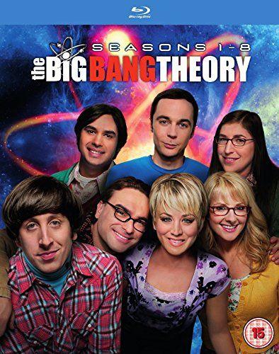The big bang theory saison 1 à 8 en blu-ray à 46€ only avec sous-titres français !!