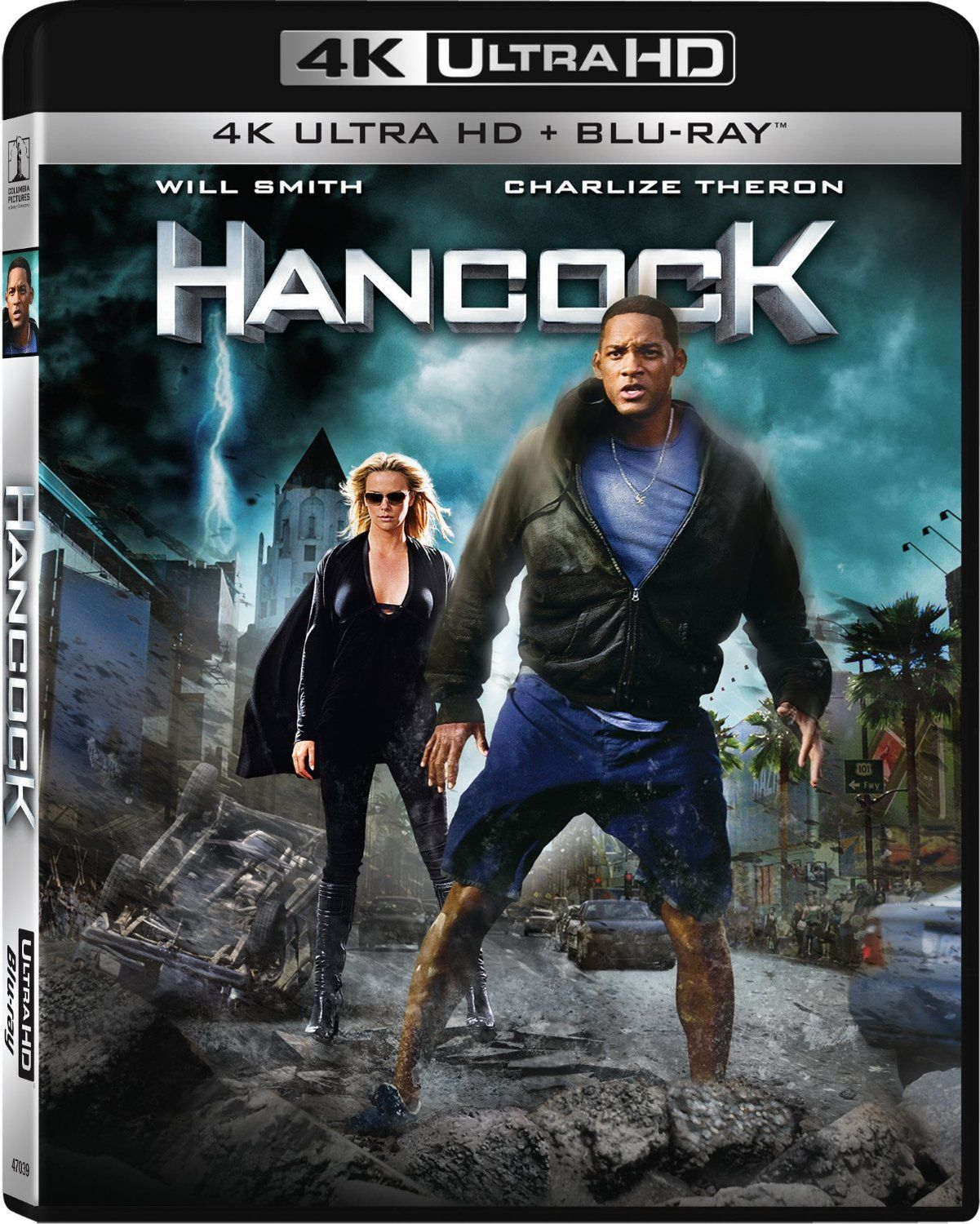 Hancock en blu-ray ultra hd