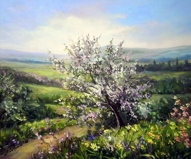 Peinture d'Anca Bulgaru