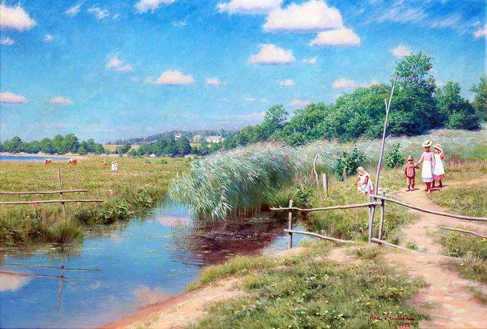 Peinture de Johan Krouthen