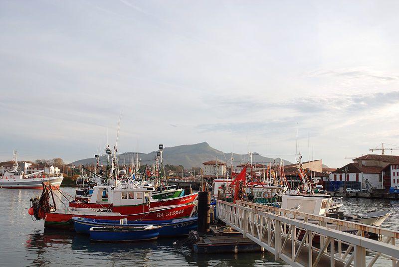 Le port de pêche.