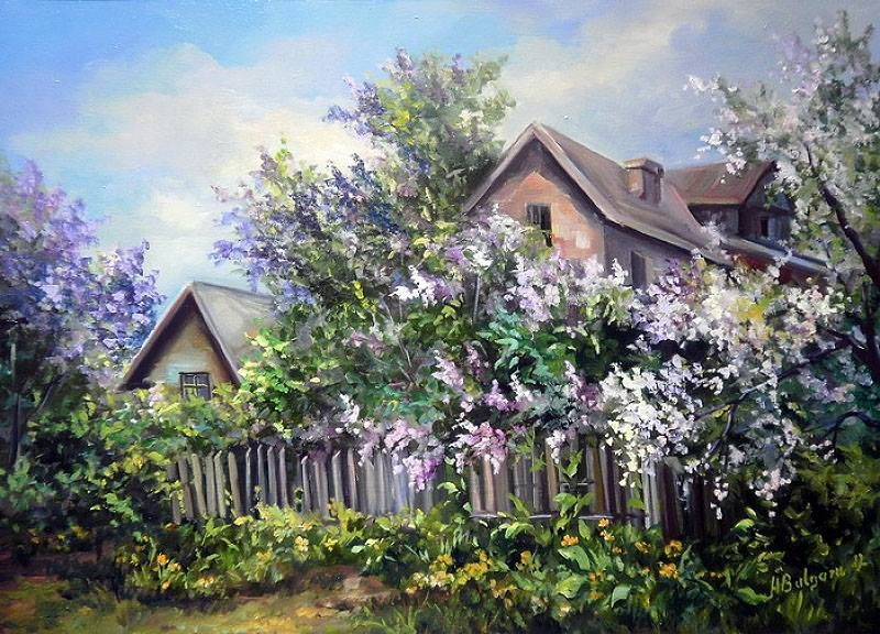 peintures de Anca Bulgaru