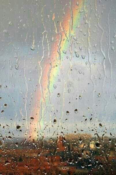 La pluie..