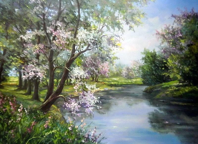 Peintures de Anca Bulgaru.