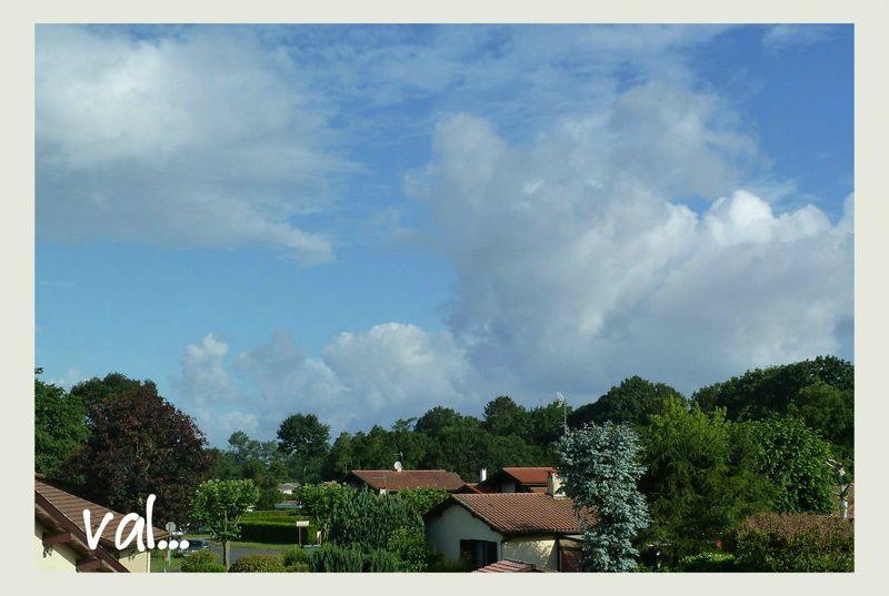 En cette fin du mois de juin, le ciel est redevenu bleu, les températures sont plus élevées.