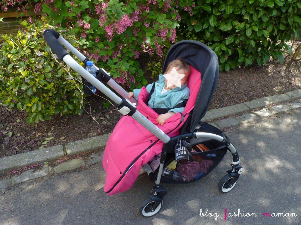 Test bébé : Bugaboo Bee Poussette citadine légère et maniable siège assisse réversible face conducteur mon avis de maman testé avec mon bébé