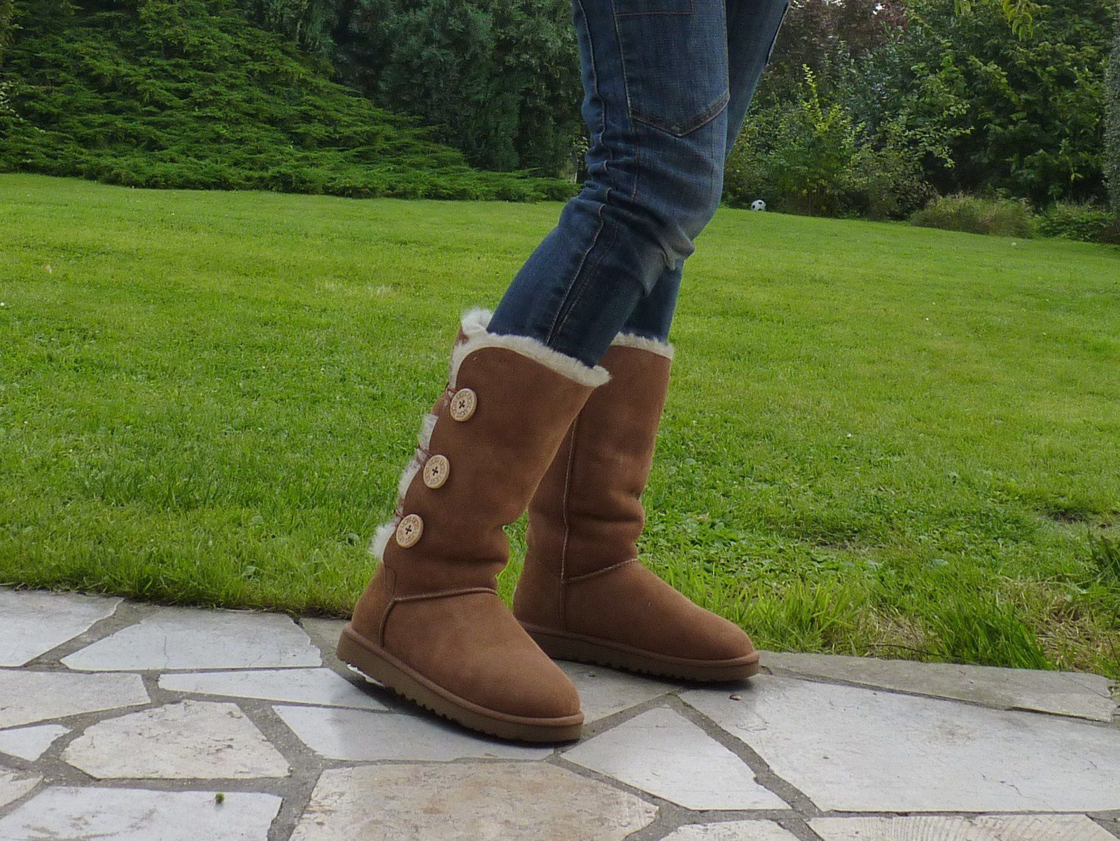 UGG Bailey Button triplet chestnut 1873, mode look tendance fashion maman