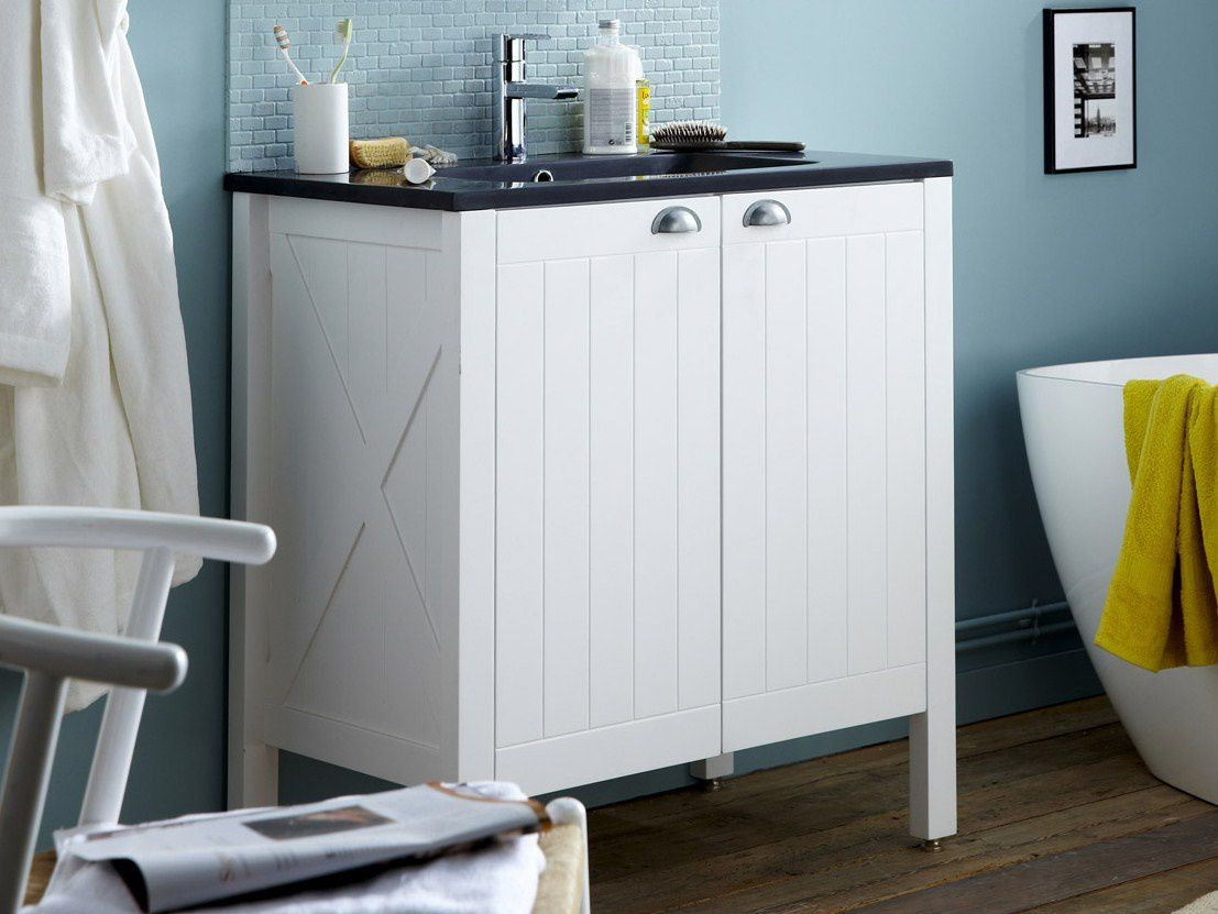ma s lection meubles lavabo vasque salle de bains moins. Black Bedroom Furniture Sets. Home Design Ideas