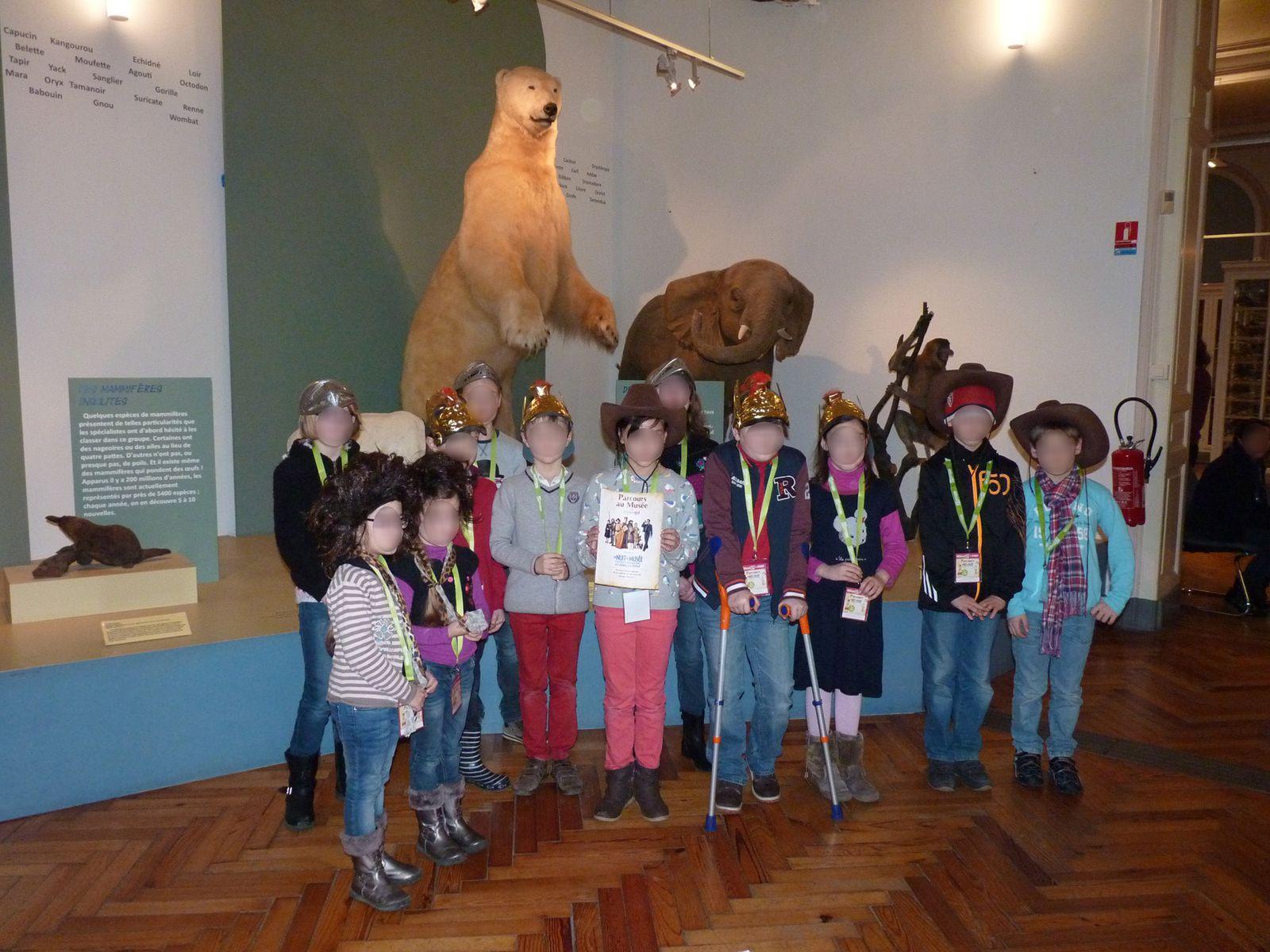 activité enfant CitizenKid Lille parcours La Nuit au Musée