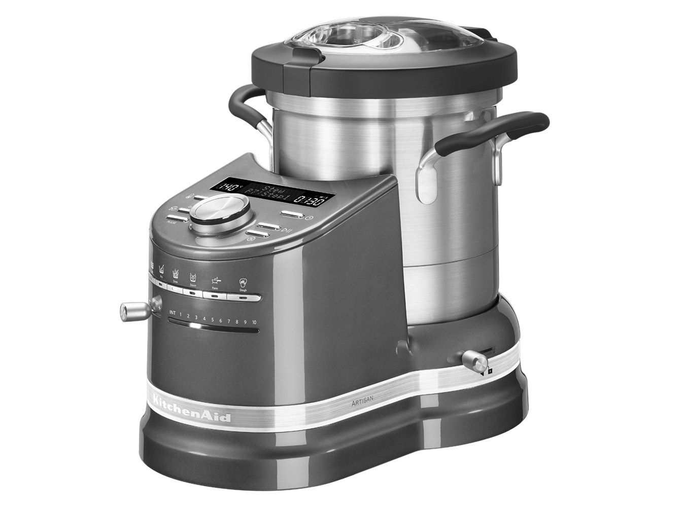 kitchenaid Cook Processor couleurs : bordeaux, crème, gris anthracite silver...