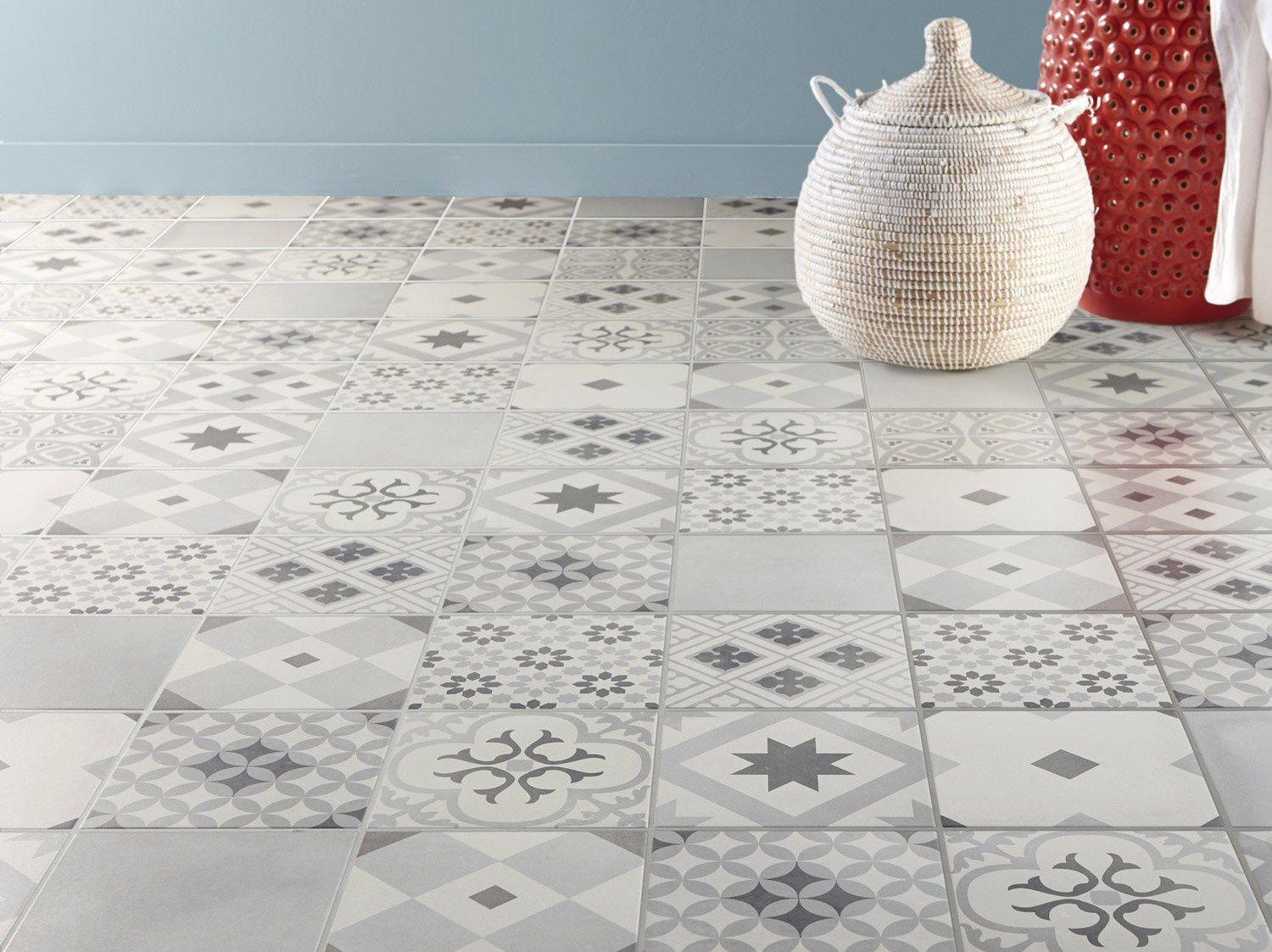 Carrelage design carrelage carreaux de ciment castorama moderne design po - Leroy merlin colle carrelage ...