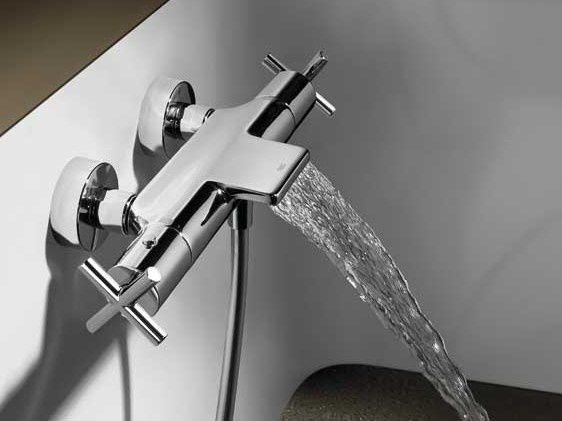 Tresgriferia Bimax Tres robinet thermostatique bain cascade - 361€ (414€ avec douchette)