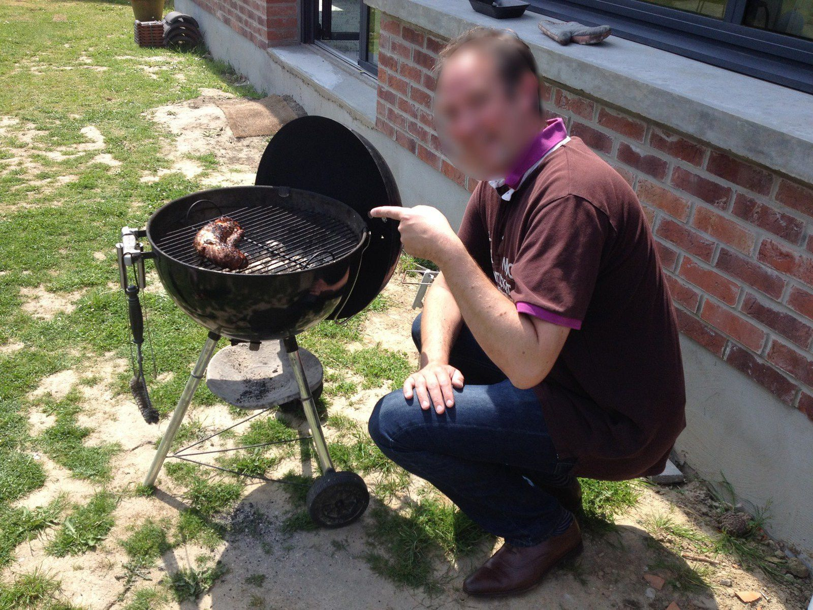 Recette filet mignon caram lis au barbecue fashion maman - Allumer barbecue weber ...