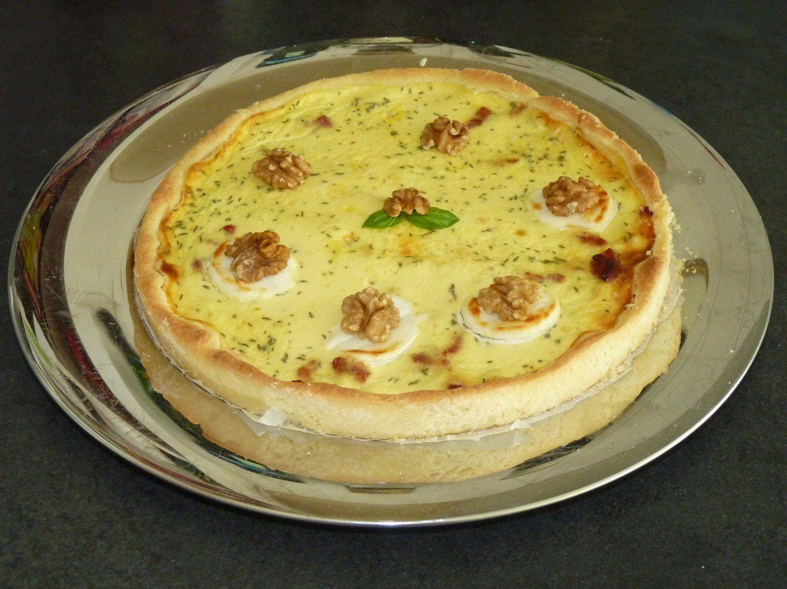 Recette Quiche Lorraine : astuce blog cuisine pâte croustillante
