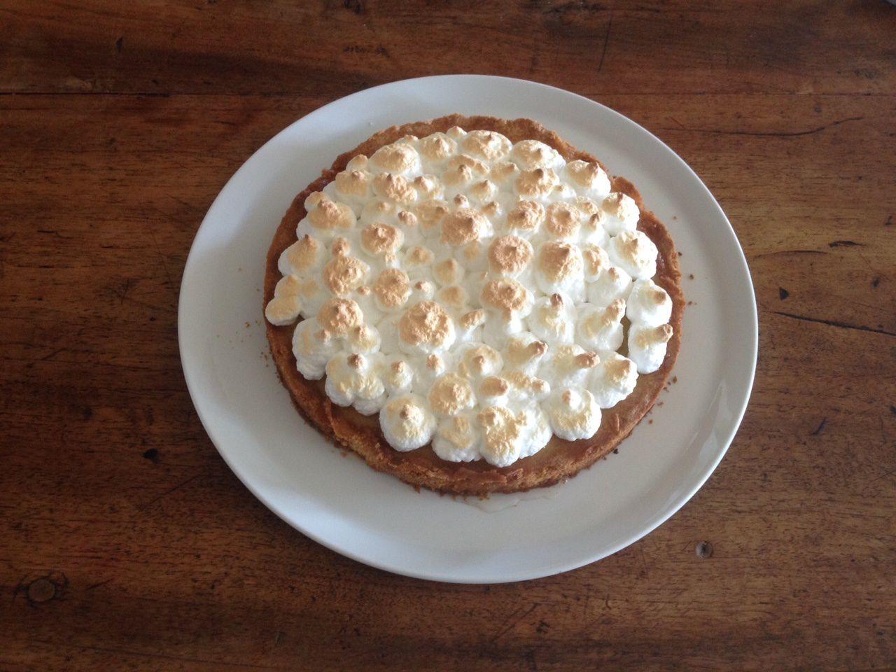 Recette cuisine tarte citron orange meringu e avec ou sans thermomix fashion maman - Recette tarte au citron sans meringue ...