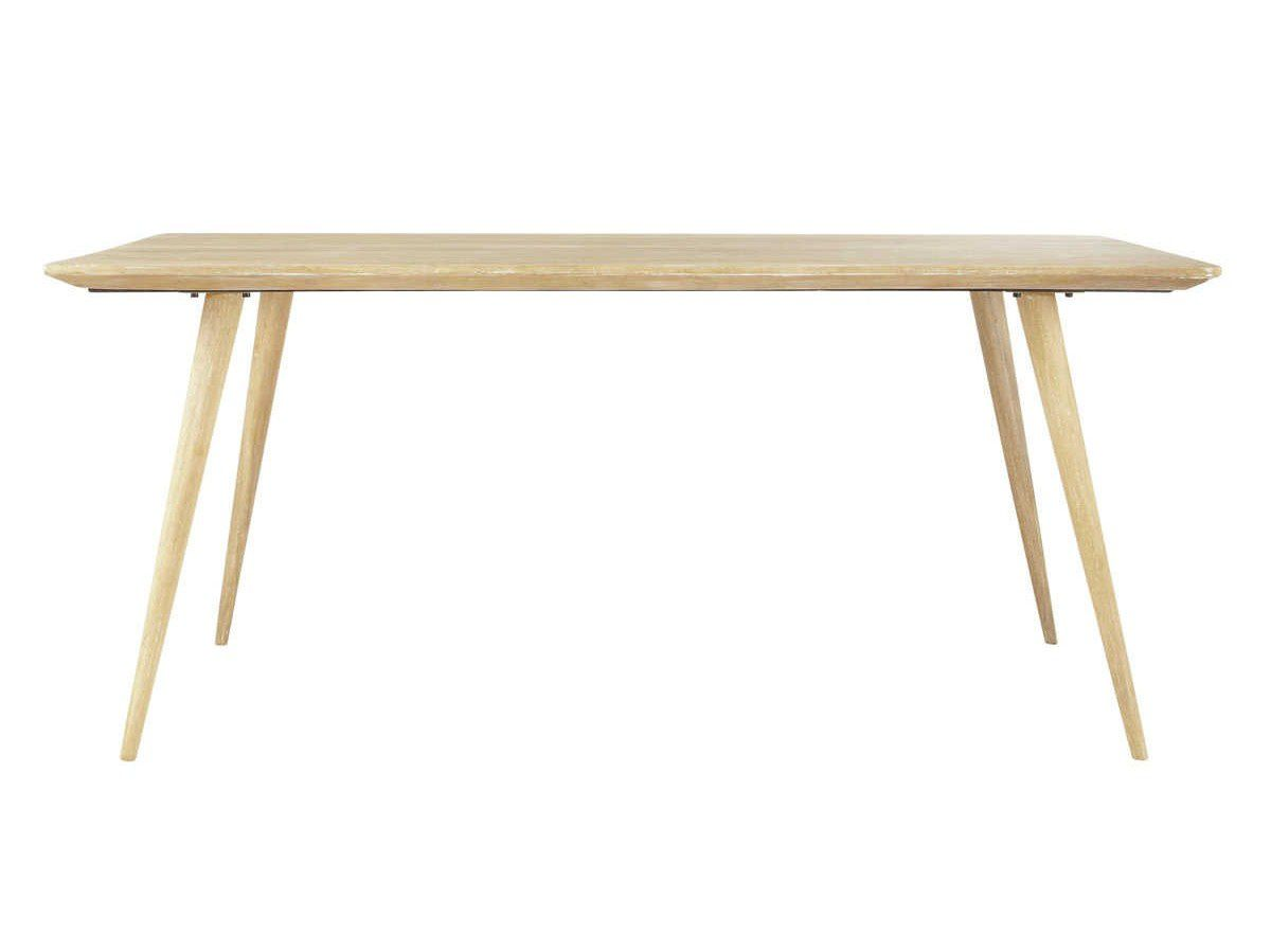 Ma s lection table d ner en bois rectangulaire for Maisons du monde table